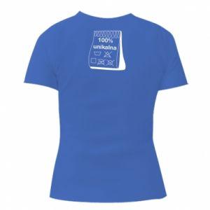 Women's V-neck t-shirt 100% unique, for her