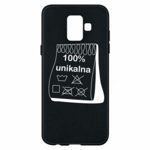 Phone case for Samsung A6 2018 100% unique, for her - PrintSalon