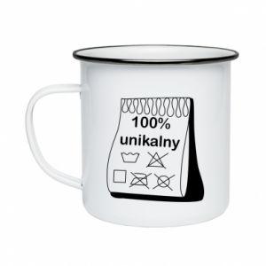 Enameled mug 100% unique - PrintSalon