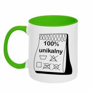 Two-toned mug 100% unique - PrintSalon