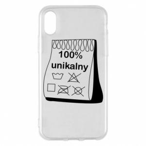 Phone case for iPhone X/Xs 100% unique - PrintSalon