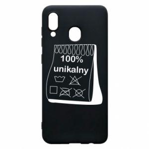 Phone case for Samsung A20 100% unique - PrintSalon