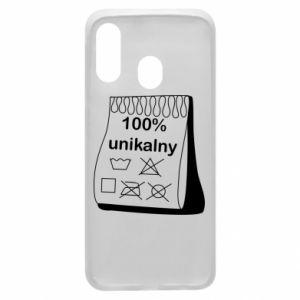 Phone case for Samsung A40 100% unique - PrintSalon
