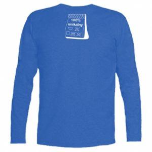 Long Sleeve T-shirt 100% unique - PrintSalon