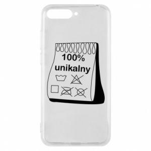 Phone case for Huawei Y6 2018 100% unique - PrintSalon