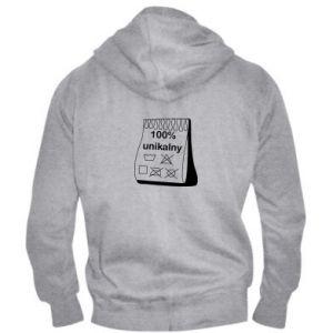 Men's zip up hoodie 100% unique - PrintSalon