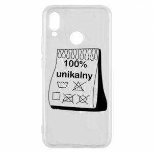 Phone case for Huawei P20 Lite 100% unique - PrintSalon