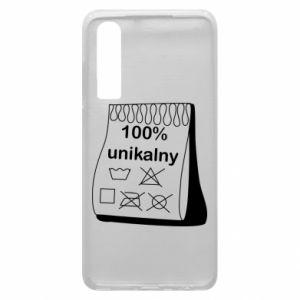 Phone case for Huawei P30 100% unique - PrintSalon