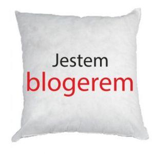 Pillow I'm bloger - PrintSalon