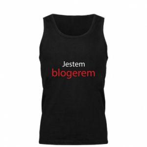 Men's t-shirt I'm bloger - PrintSalon