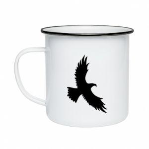 Kubek emaliowany Big flying eagle