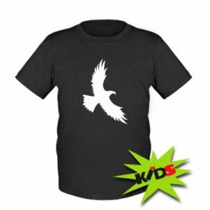 Kids T-shirt Big flying eagle