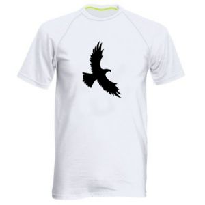 Męska koszulka sportowa Big flying eagle