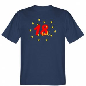 T-shirt 18 years, with stars