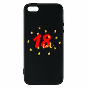 Etui na iPhone 5/5S/SE 18 lat, z gwiazdami