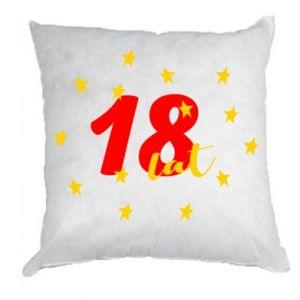Poduszka 18 lat, z gwiazdami