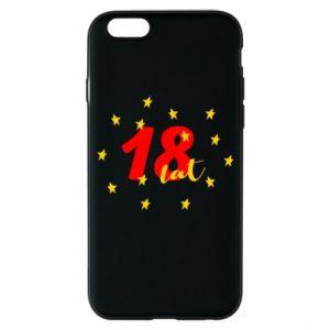 Etui na iPhone 6/6S 18 lat, z gwiazdami