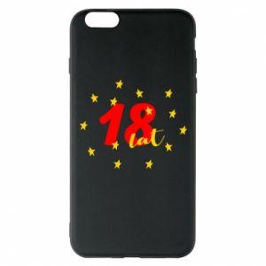 Etui na iPhone 6 Plus/6S Plus 18 lat, z gwiazdami