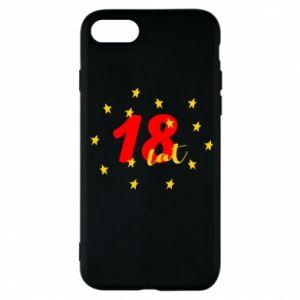 Etui na iPhone 7 18 lat, z gwiazdami