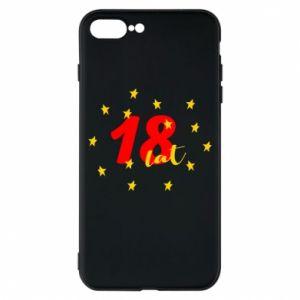 Etui na iPhone 8 Plus 18 lat, z gwiazdami