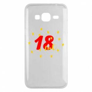 Etui na Samsung J3 2016 18 lat, z gwiazdami