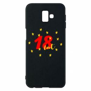Etui na Samsung J6 Plus 2018 18 lat, z gwiazdami