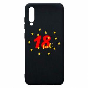 Etui na Samsung A70 18 lat, z gwiazdami