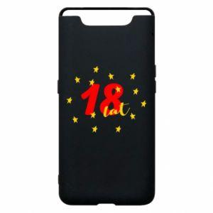 Etui na Samsung A80 18 lat, z gwiazdami