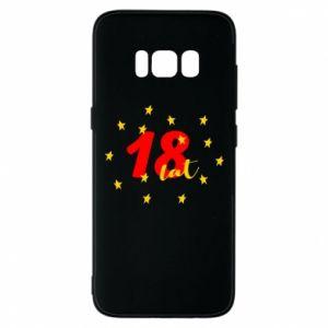 Etui na Samsung S8 18 lat, z gwiazdami