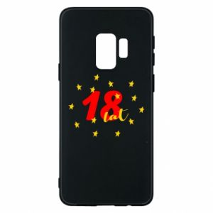 Etui na Samsung S9 18 lat, z gwiazdami