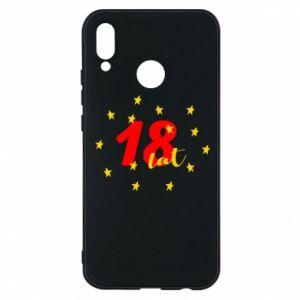 Etui na Huawei P20 Lite 18 lat, z gwiazdami