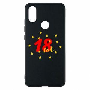 Etui na Xiaomi Mi A2 18 lat, z gwiazdami
