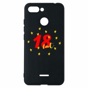 Etui na Xiaomi Redmi 6 18 lat, z gwiazdami