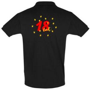Koszulka Polo 18 lat, z gwiazdami