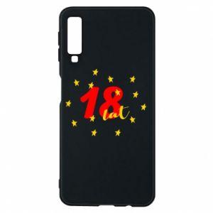 Etui na Samsung A7 2018 18 lat, z gwiazdami