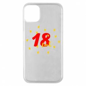 Etui na iPhone 11 Pro 18 lat, z gwiazdami
