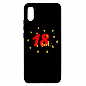 Xiaomi Redmi 9a Case 18 years, with stars