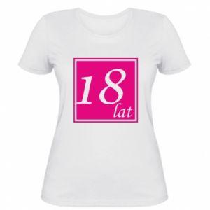 Women's t-shirt 18 years
