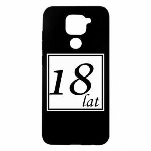 Etui na Xiaomi Redmi Note 9/Redmi 10X 18 lat