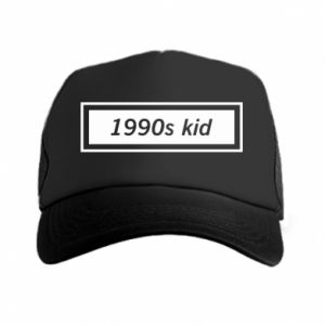 Trucker hat 1990s kid