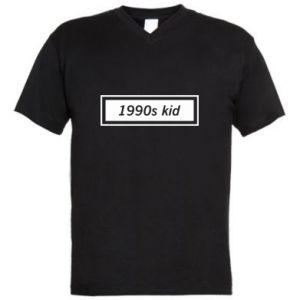 Męska koszulka V-neck 1990s kid
