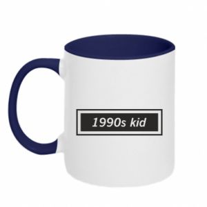 Kubek dwukolorowy 1990s kid