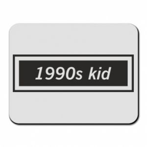 Mouse pad 1990s kid