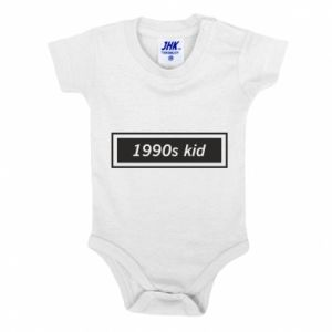 Baby bodysuit 1990s kid