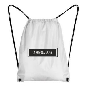 Backpack-bag 1990s kid