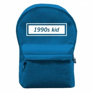 Backpack with front pocket 1990s kid