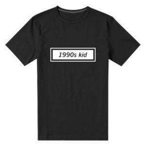 Męska premium koszulka 1990s kid