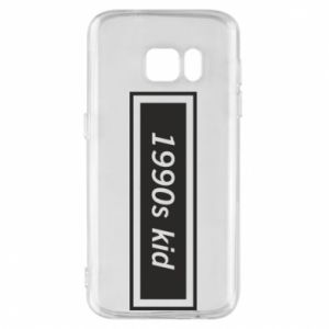 Phone case for Samsung S7 1990s kid