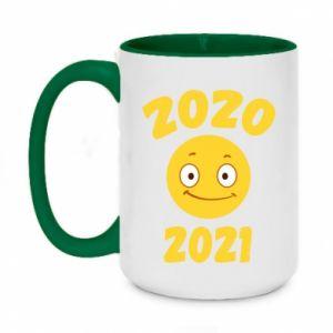 Kubek dwukolorowy 450ml 2020-2021