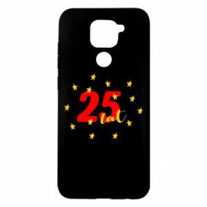 Xiaomi Redmi Note 9 / Redmi 10X case % print% 25 years, with stars